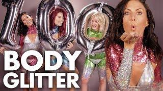 Full Body of GLITTER?! – 100th Beauty Trippin