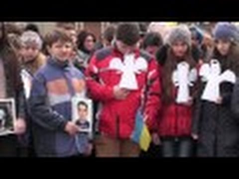 У Калуші вшанували пам'ять Героїв Небесної сотні, серед яких — калушанин Ігор Дмитрів
