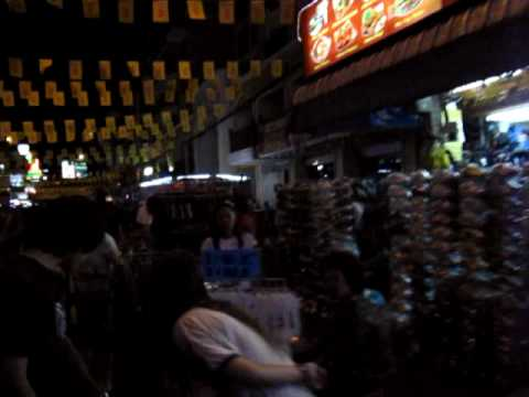 All that is missing are the smells…a walk down Khao San Road!