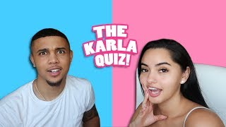 HOW WELL DOES MY BF KNOW ME? | KB & KARLA
