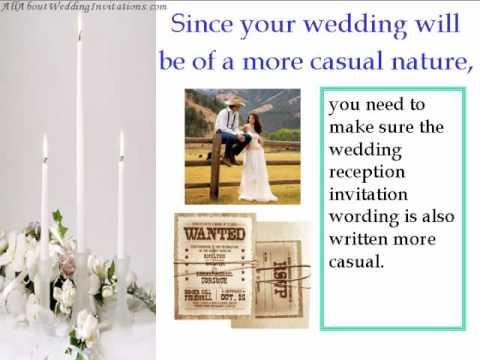 Wedding Invitation Wor...