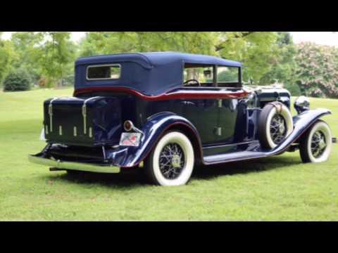The 1931 Auburn 8-98A! A Quick look.