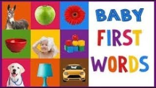 BABY - TODDLER FIRST WORDS / EDUCATIONAL VIDEO