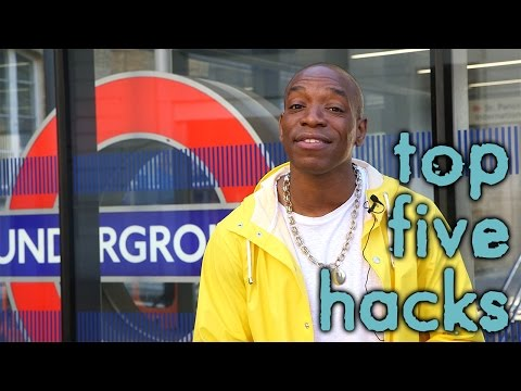 Top 5 London Life Hacks - TFL Underground / Tube