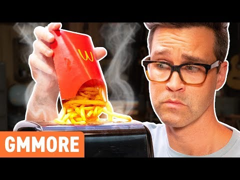Putting Soggy Fries In A Toaster (EXPERIMENT)