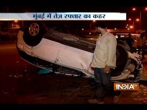 Major accident at Eastern Express Highway in Mumbai, 5 injured