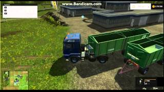 обзор мода MAN для farming simulator 15