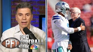Are Cowboys struggling in Prescott, Zeke negotiations? | Pro Football Talk | NBC Sports