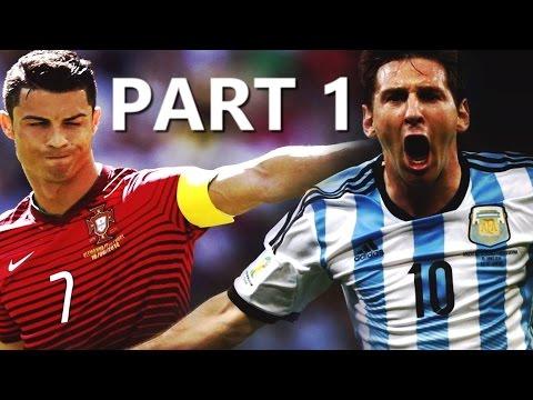 Cristiano Ronaldo vs Leo Messi ► AMAZING GOALS BATTLE | Race 2014/15 HD