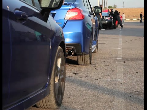 Subaru WRX vs. Ford Fiesta ST