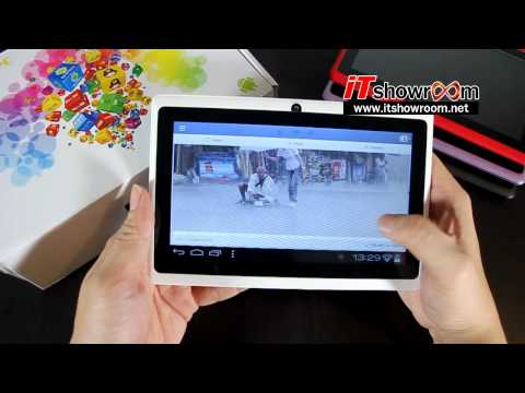 Tablet Q88 AllWinner A13 Android 4.0 จอ Capa 7