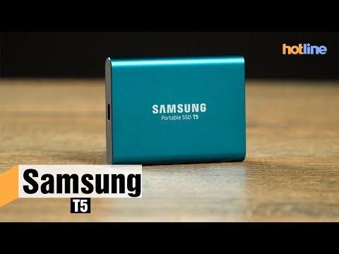 Samsung T5 — обзор портативного SSD накопителя