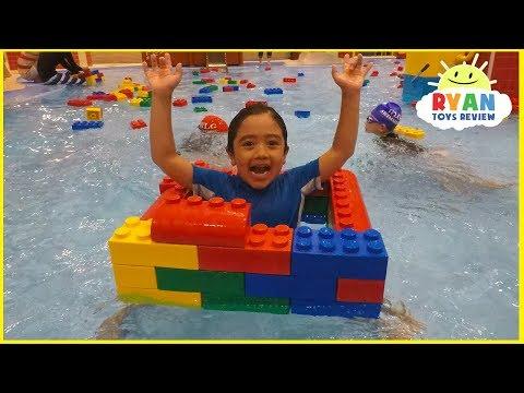 LegoLand Hotel Indoor Swimming Pool Kids playtime!!!