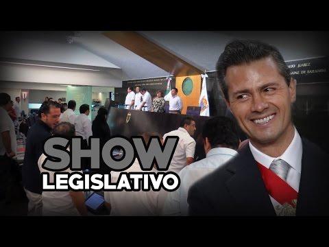 El show legislativo en Campeche.... Sin control