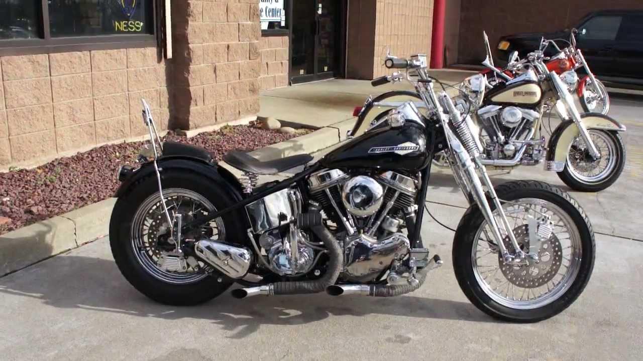 Sold 1965 Harley Davidson Panhead For Sale Completely