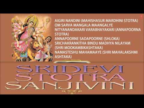 Sridevi Stotra Sanjivini (sri Adi Shankaracharya) Devi Bhajans [full Audio Songs Juke Box] video