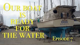 Ready for living on a Yacht full time hope for no leak! The Boat Life Sailing adventure travel vlog