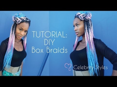 TUTORIAL: Sexy Box Braids-- How to Install Box Braids PART 1