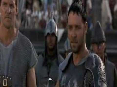 Mon nom est Maximus Decimus Meridius, extrait de Gladiator (1999)