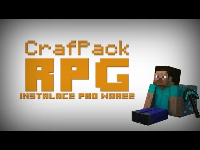 [CZ] Jak nainstalovat CrafPack RPG - Warez Edition (MC 1.4.7)