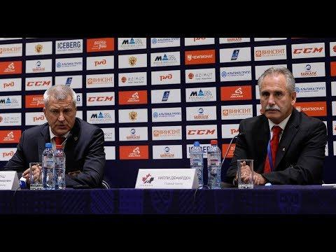 Олимпийская сборная России - Сборная Канады: пресс-конференция / Russia - Canada: press conference