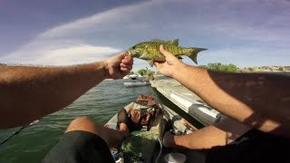 Big Bass- Kayak Fishing (Lots of Fish Caught) Yakapella Serenade