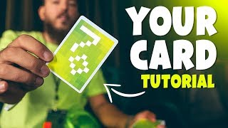 How To REVEAL A Playing Card with THIS Gaff - MAGIC TUTORIAL (EASY)