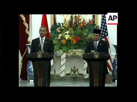 Obama comment on Mideast, Yudhoyono comment on Myanmar