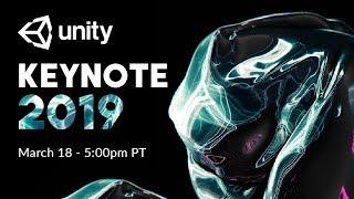 Unity GDC Keynote 2019 Live!