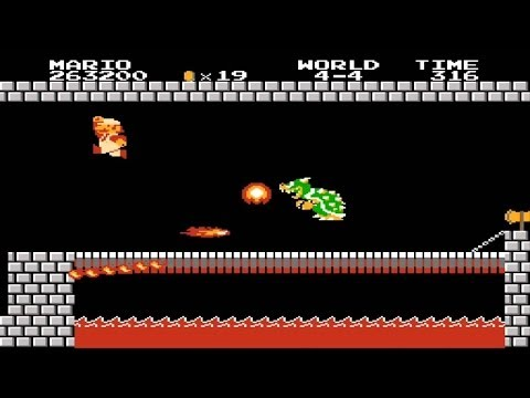 Super Mario Bros. Speed Run in Under Five Minutes