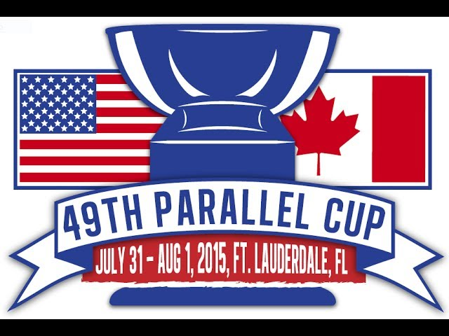2015 49th Parallel Cup - USA Revolution vs Canada Northwind - Men's Game