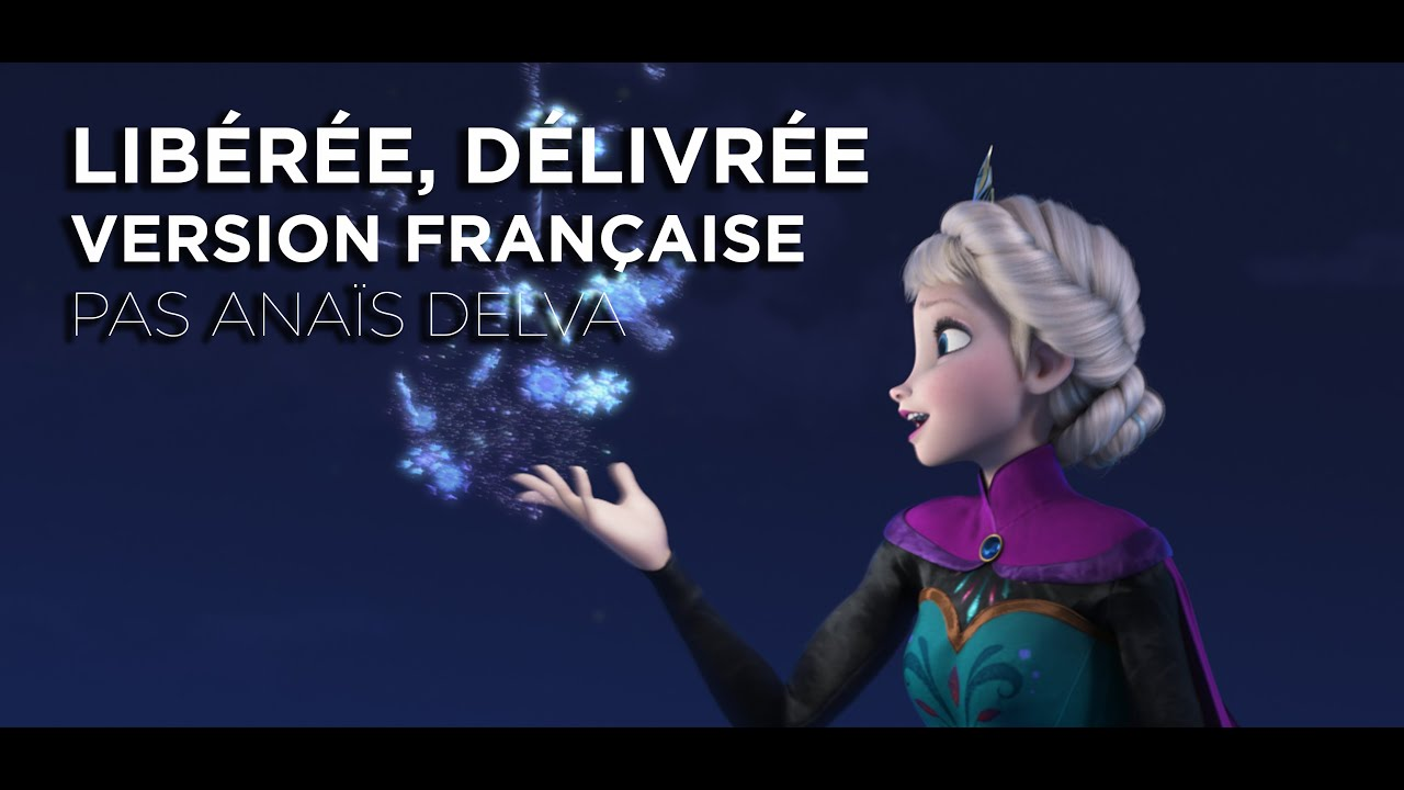 la reine des neiges extrait lib r e d livr e version fran aise youtube. Black Bedroom Furniture Sets. Home Design Ideas