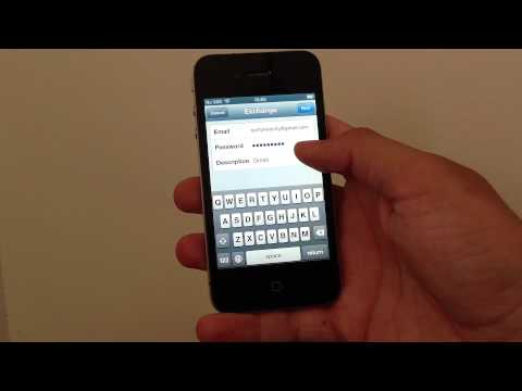 iPhone: How to set up Gmail as an Exchange account and get your mail. contacts and calendars