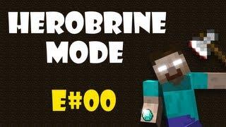 Český Let's Play Minecraftu Herobrine mod: E00 Pilotní díl