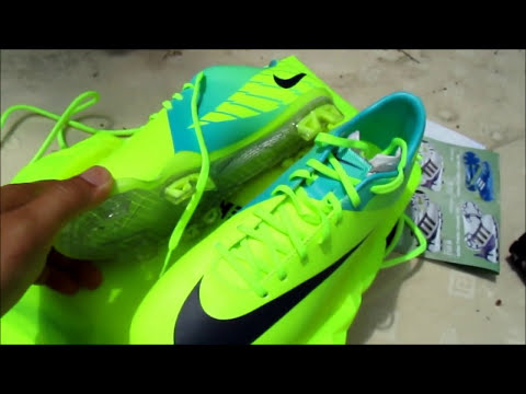 Unboxing Nike Mercurial Vapor VII(7) Volt/Purple/Retro HD