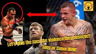Dustin Poirier refuses to wait for Khabib, wants Tony or Conor! Frankie Edgar,Brian Ortega
