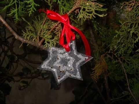 Addobbi di natale fai da te con materiale riciclato youtube - Decorazioni natalizie con materiale riciclato ...