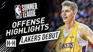 Moritz Wagner Full Offense & Defense Highlights at 2018 NBA Summer League - LA Lakers Debut!