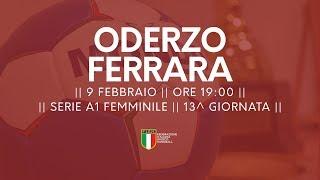 Serie A1F [13^]: Oderzo - Ferrara 29-17