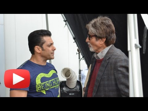 Salman Khan Gets Surprise Visit By Amitabh Bachchan- Jai Ho First Look