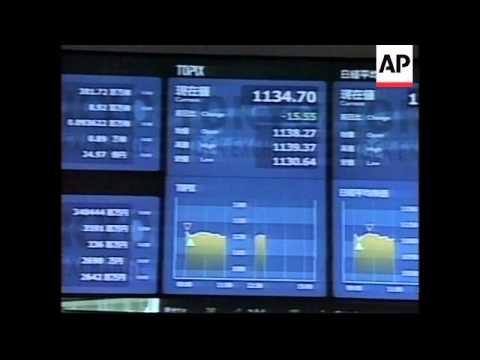 Tokyo's Nikkei average marks 17-year closing low.