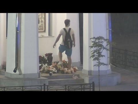 ТВЭл - Расстроенный вандал разворошил часовню в Электрогорске (01.07.16)