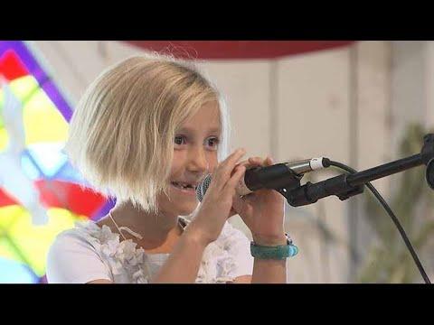 Children's Joke Telling Contest   Iowa State Fair 2012