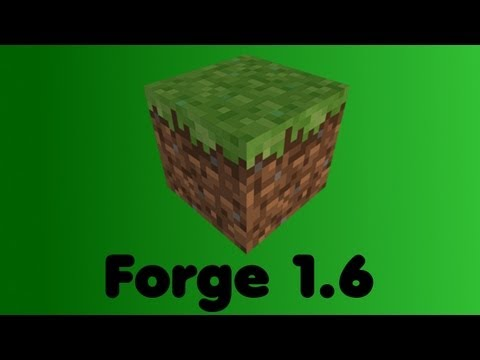 [1.6] [1.6.4] Minecraft Forge installieren [Deutsch] [HD]