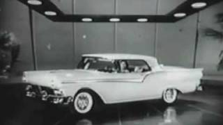 1957 Ford Skyliner Commercial With Tennessee Ernie Ford