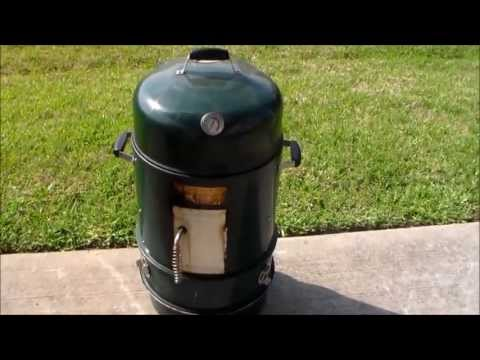 Master Forge Vertical Charcoal Smoker Modifications