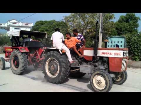 Mahindra 575 Vs Swaraj 855 Part4 (kahri Sahri) Tractor Tochan video