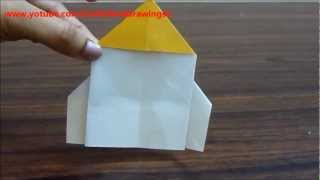 How To Make A Paper Rocket (origami) Very Easily...