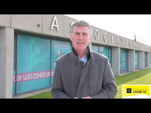 An important message from Stephen Kenny
