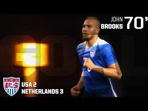 MNT vs. Netherlands: John Brooks Goal - June 5, 2015
